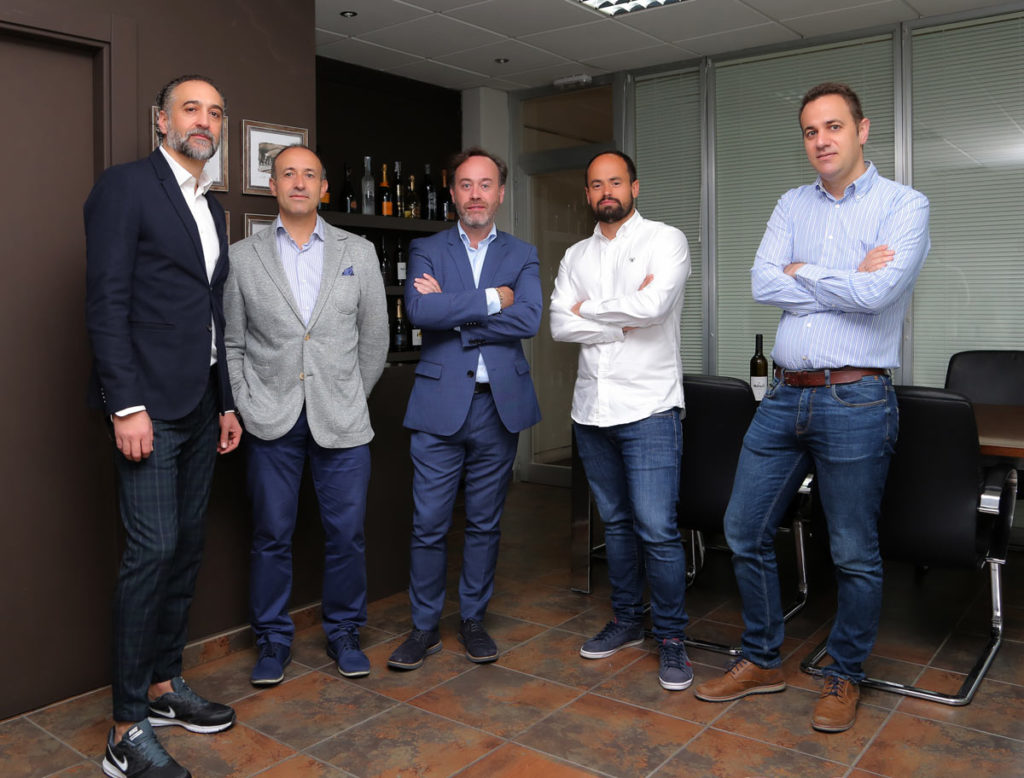 Equipo comercial - Bodegas Carlos Valero